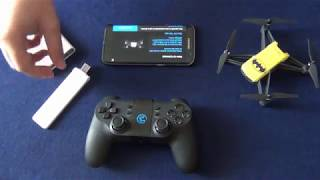 Gamesir T1D controller with Tello drone (and Xiaomi repeater)