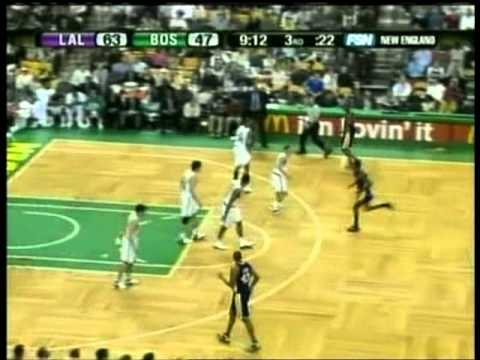 Kobe Bryant 2005-06: 43 points vs Tony Allen & Paul Pierce
