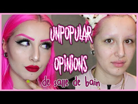 MES UNPOPULAR OPINIONS + NIGHT ROUTINE (Démaquillage, Nettoyage, etc..)|