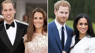 Harry e Meghan vs William e Kate: due coppie a confronto - La vita in diretta 30/04/2018