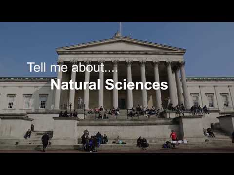 Tell me about Natural Sciences