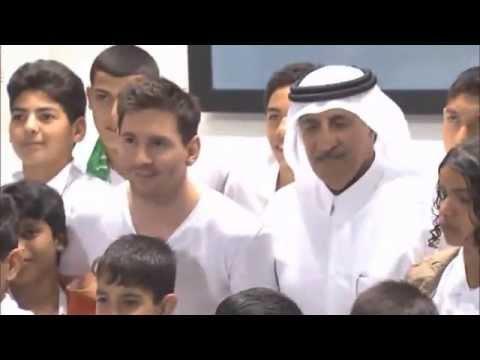 Ooredoo - Football Star Lionel 'Leo' Messi Visit to Qatar