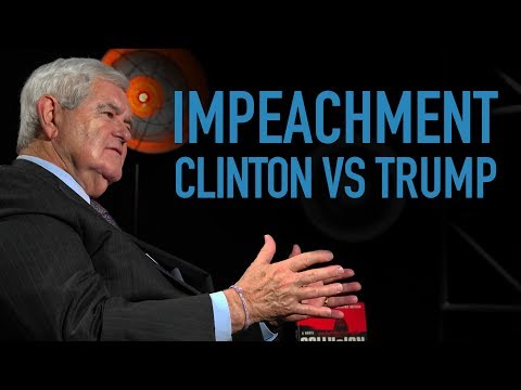 Gingrich: The Difference Between Trump And Clinton Impeachment Is Starr Report Said Clinton Was Guilty
