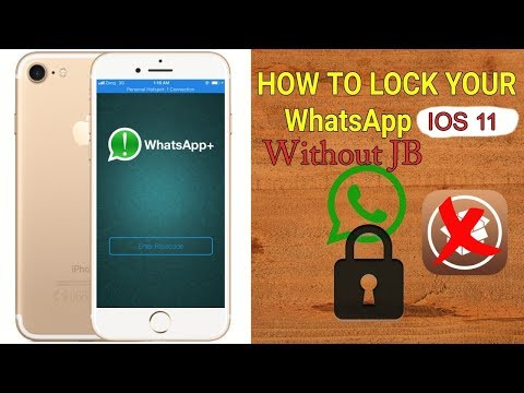 How To Lock WhatsApp With Touch iD or Face iD Without