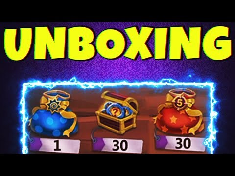 OPENING THE GOODS 😍 | Insignia Chest N More  | CASTLE CLASH