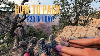 How to Pack for Rim to Rim Hike Grand Canyon