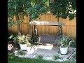 Outdoor Decorating | 3 person swing with Canopy