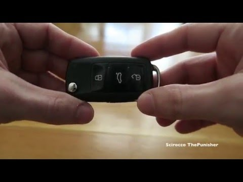DIY: Volkswagen Key Fob Battery Replacement 2018