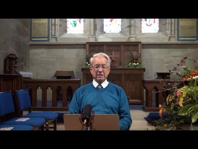 18th Oct 2020 David Hornsby - Prayer, the underused resource for all Christians