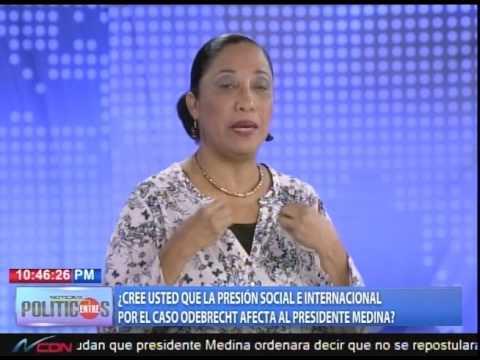¿Cree usted que la presión social e internacional por el caso Odebrecht afecta al presidente Medina?