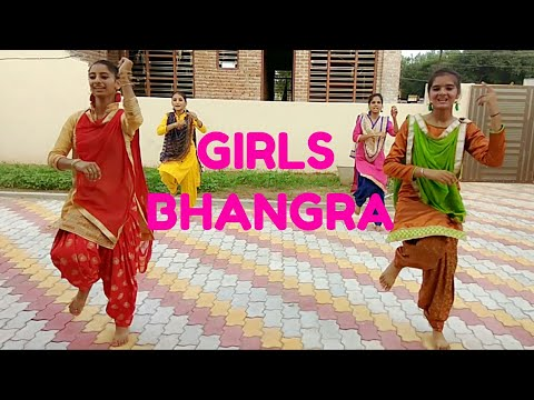 Tankha Ranjit Bawa Song /girls Bhangr /choreogra By Bhangra Live Group (performance By Grewal Girls)