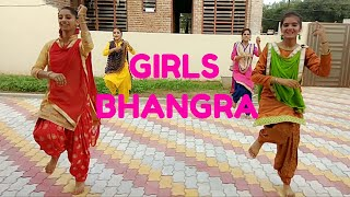 Tankha Ranjit Bawa song /girls bhangr /choreogra by bhangra live group (performance by Grewal girls)