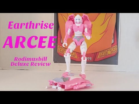 Transformers WFC Earthrise Arcee Deluxe Review by Rodimusbill