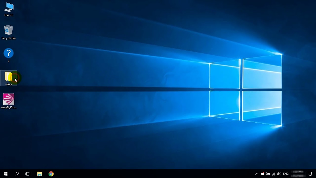 How to use GUI v2ray client in Windows