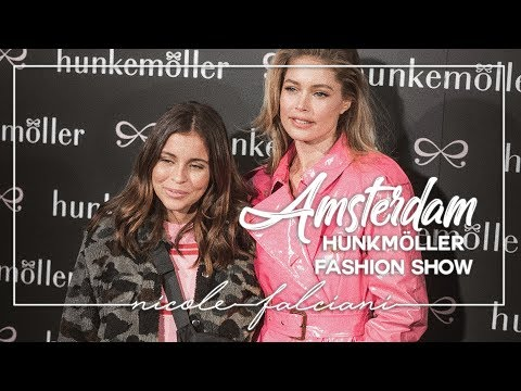 NICKY VISITS AMSTERDAM - Hunkemöller fashion show