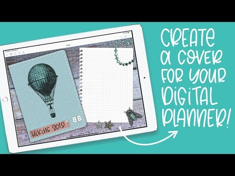 Procreate Tutorial: Create A Cover For Your Digital Planner/Journal