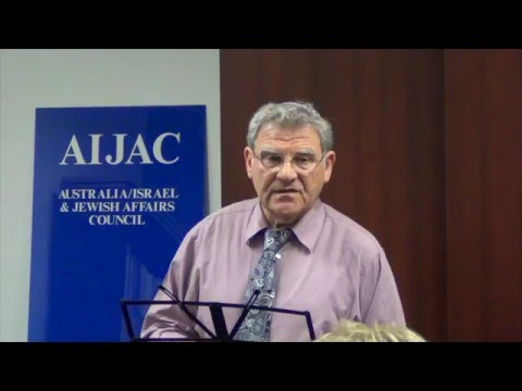 Efraim Inbar - Israel's Response To Stabbings