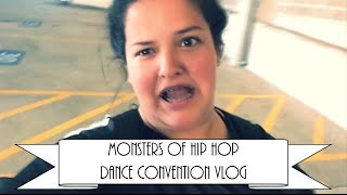 Monsters Of Hip Hop Dance Convention + TMHS Black Out Pep-Rally | Vlog | Jordan Adams