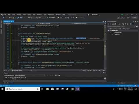 Call Azure REST API Using C# | Azure Resource Manager Bot | Part 5