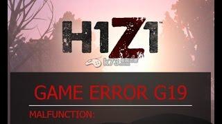 H1Z1 Hataları Çözümleri // g19 // g34 // g32 - 2017