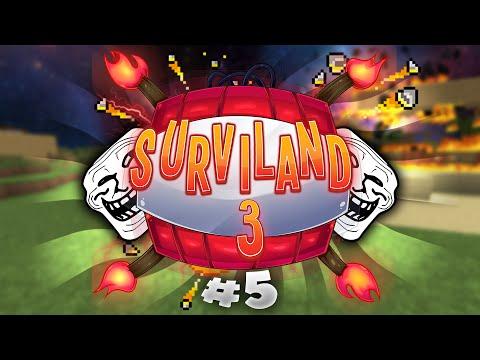 ¡SE TE QUEMA LA CASA! | SURVILAND 3 - Minecraft Serie Troll Ep.5