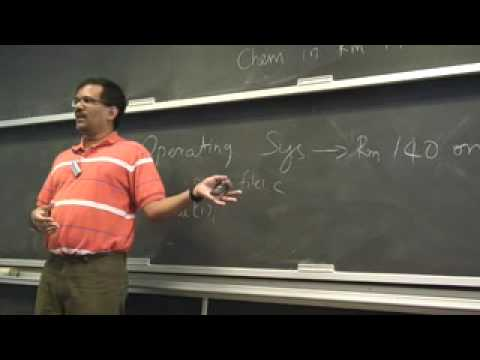 OS-SP08: Lecture 1: Introduction and course logistics