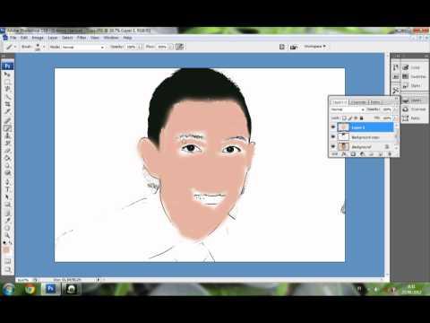 Cara Membuat Foto Menjadi Kartun dngn Photoshop cs3