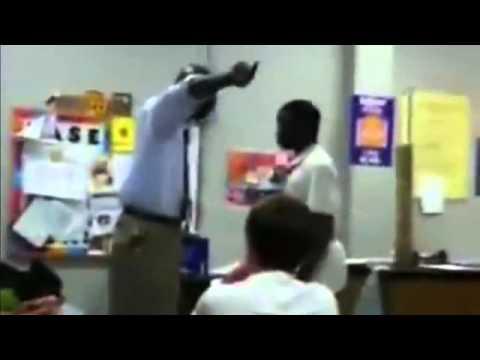 TEACHER OWNS DISRESPECTFUL STUDENT
