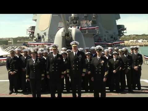 Commander, U.S. 6th Fleet Welcomes USS Porter to Naval Station Rota