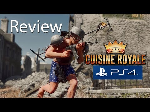 Cuisine Royale Playstation 4 Gameplay Review - Free To Play Battle Royale PS4
