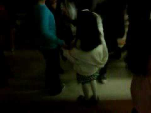 Nena in Vista square elementary school dance