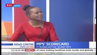 MPS\' SCORECARD: Mzalendo trust releases report showing active and silent MPS | PART 2