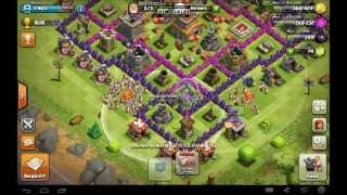 Let's Play Clash of Clans #005 | Mein altes Dorf | Die Kings