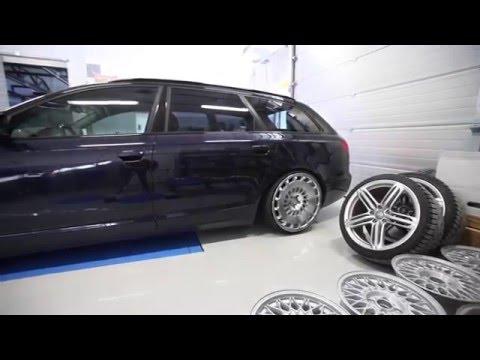 Rotiform Ccv 20 Quot X10 Quot Et35 Audi A6 3 0 Tdi 4f Elpuercosi Fi Youtube
