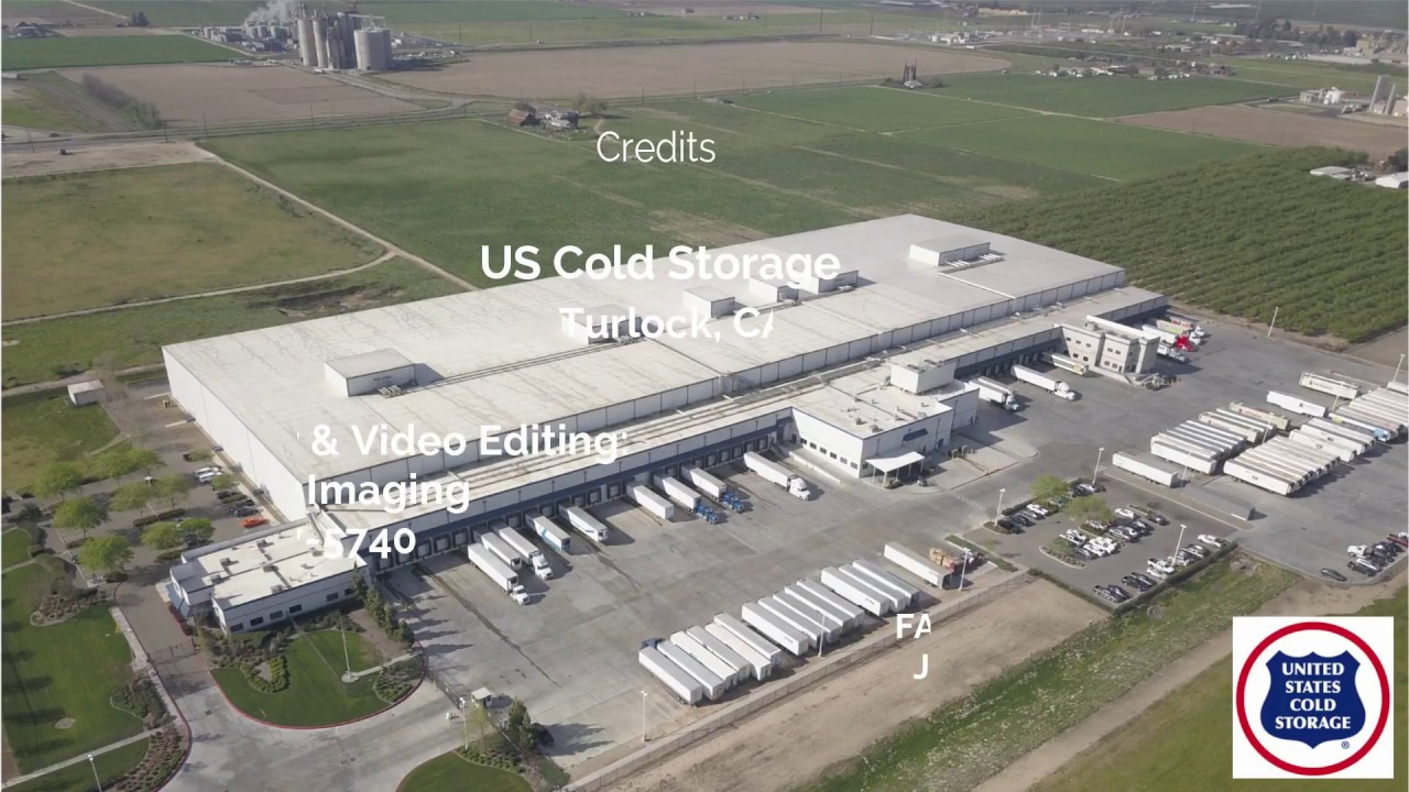 US Cold Storage Facility - Turlock CA & US Cold Storage Facility - Turlock CA - YouTube
