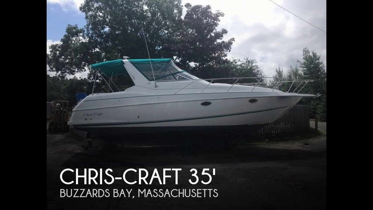 chris craft 33 crowne boat for sale in buzzards bay ma for 27 900 156189 [ 1280 x 720 Pixel ]