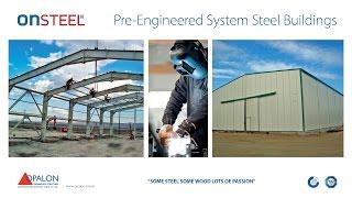 OPALON Prefabrik Çelik Yapı Hangar Atölye Depo ONSTEEL