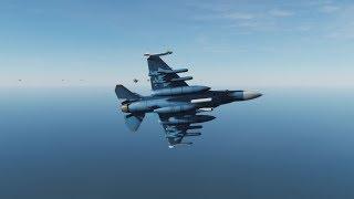 F-2戦闘機VSイージス艦艦隊【DCSWorld2.5】