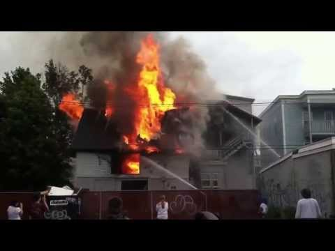 Structure Fire Manchester Nh