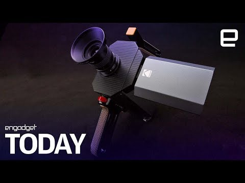 Kodak releases the first footage from its hybrid Super 8 camera | Engadget Today