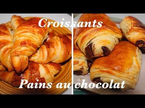 pain-au-chocolat-et-croissant-feuilletée-[recette]-🥐🍫