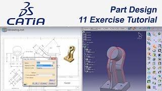 CATIA V5 Eğitim (#44) 11 Examples Tutorial Part Design