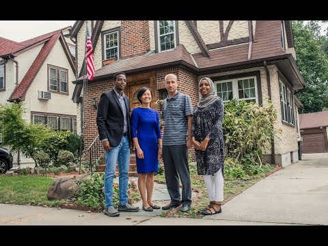 Why are these refugees in President Trump's childhood home?