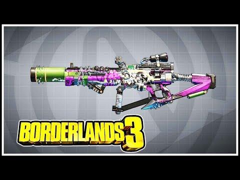 Sawbar Borderlands 3 Legendary Showcase
