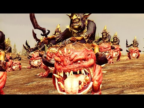 Greenskin Vs Dwarf ( New DLC New Unit) The King and the Warlord - Massive Battle Total War Warhammer |