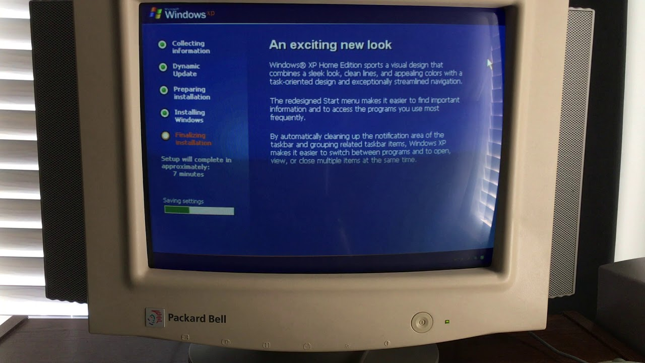 updating from windows 98 to windows xp