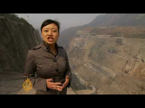 China's Yangtze dam displaced