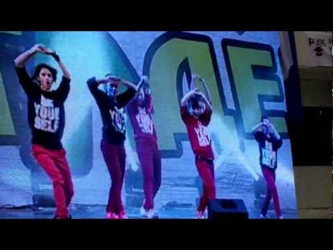 Dance School BE YOURSELF By LiL MaM Agness-Russian Street-show Champion 2012