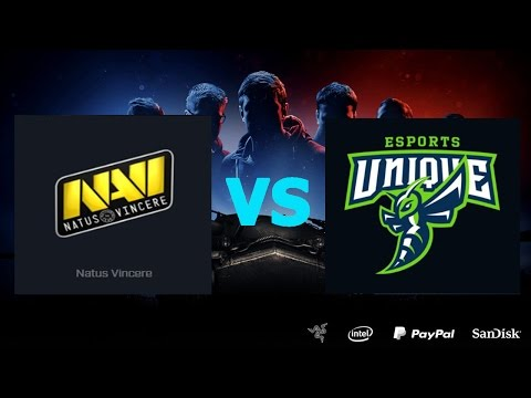 Natus Vincere vs UNIQUE - День 8.Сезон II. Gold Series WGL RU 2016/17.