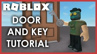 [ROBLOX Tutorial] - Door and Key SCRIPT